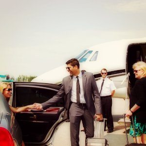 Spokane Private Jet Charter and Limo Pickup