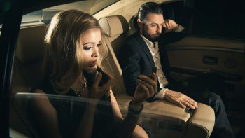 famous celebrity couple chauffeur service Whistler