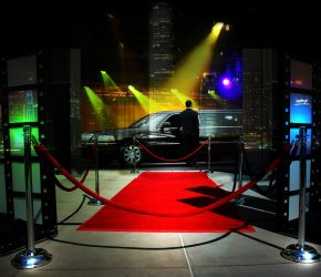 red carpet chauffeur Nashville