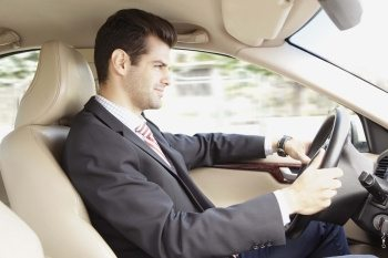 business man chauffeur service Riga