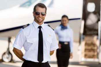 pilot and steward chauffeur service Paris