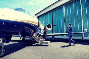 Geneva business travel - private jet charter - AssistAnt