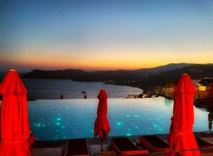 Mykonos luxury hotel pools - AssistAnt luxury travel