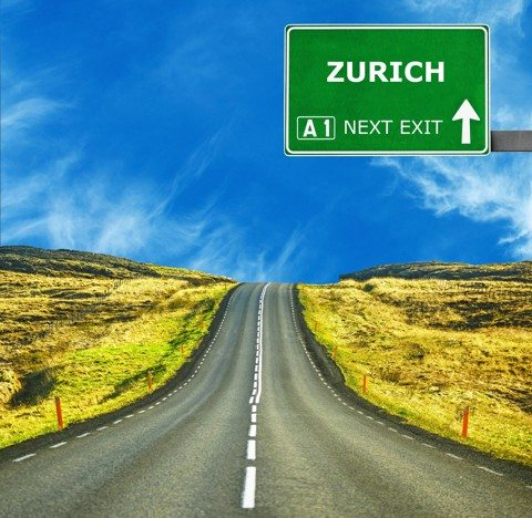 Driving in Zurich