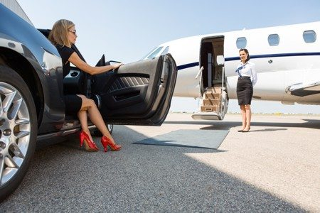 Travel with private jet