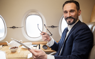 How to Be Productive on Your International Business Flight