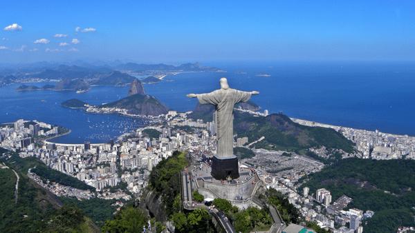 Rio de Janeiro Brazil Christ the Redeemer Statue
