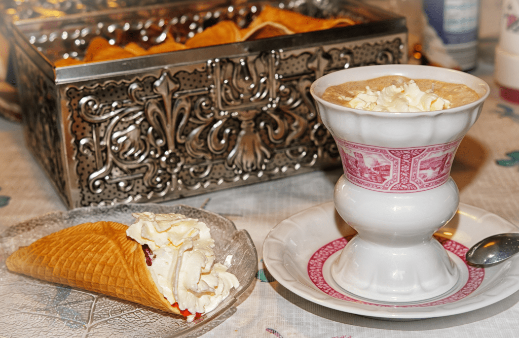 Austrian Foods melange coffee - AssistAnt Travel