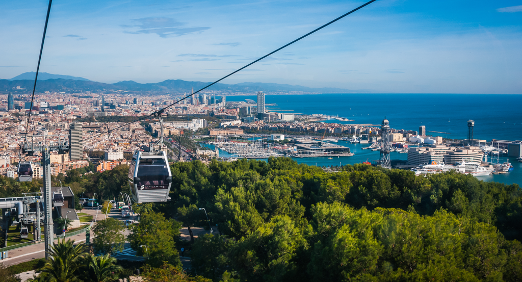 Cable Car Barcelona Spain Things to do - AssistAnt Travel