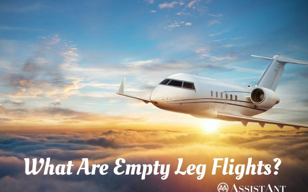 What Are Empty Leg Flights?