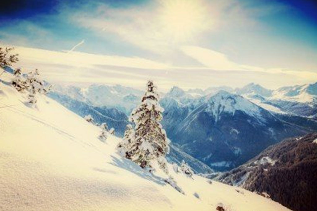 Skiing-in-Courchevel-France